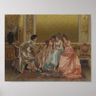 Vittorio Reggianini 1858 - 1938 ITALIAN A CAPTIVE Poster