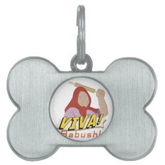 Viva Babushka Pet Name Tag