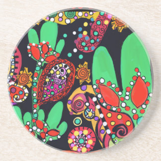 VIVA CINCO DE MAYO ART DRINK COASTER