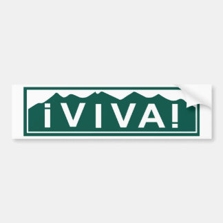 Viva Colorado Bumper Sticker