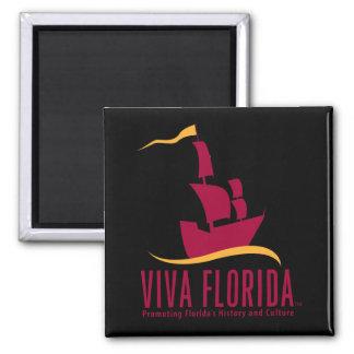 Viva Florida Square Magnet