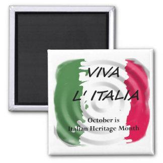 VIVA ITALIA Italian Heritage Magnet