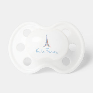 Viva La France French Baby Pacifiers