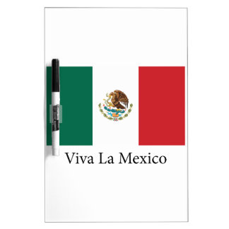 Viva la Mexico Dry Erase Whiteboards