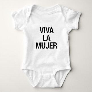Viva La Mujer Baby Bodysuit
