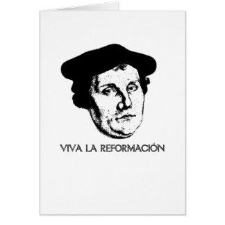Viva La Revolución Greeting Card - Martin Luther