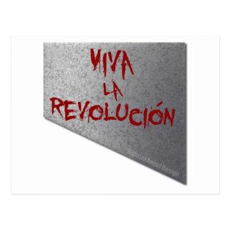 Viva la Revolucion Guillotine Postcard