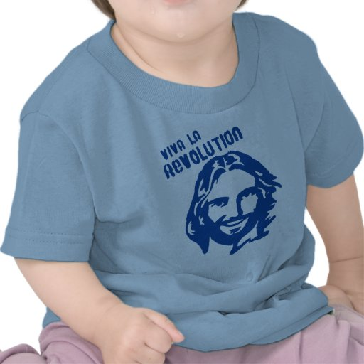 Viva La Revolution- BLUE Toddler Shirt