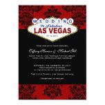 Viva Las Vegas Wedding Invitation