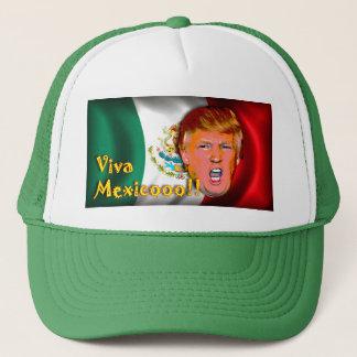 Viva Mexico anti-Donald trump hat. Trucker Hat