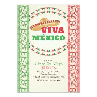 Viva Mexico Invitation