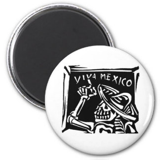 Viva Mexico- Mexico s Day of the Dead Fridge Magnet