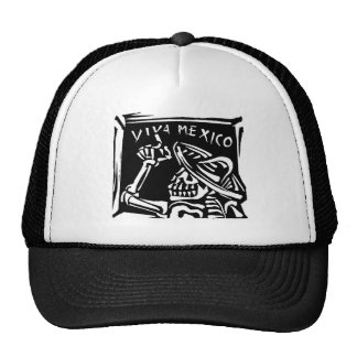 "Viva Mexico- Mexico's ""Day of the Dead"" Trucker Hat"