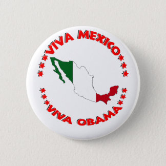 Viva OBAMA 2 Inch Round Button
