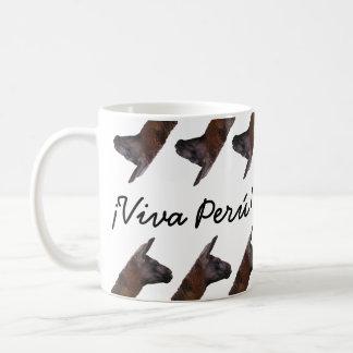 Viva Perú Llama Mug