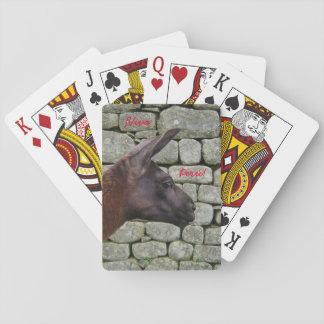 Viva Perú Llama Playing Cards