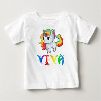 Viva Unicorn Baby T-Shirt