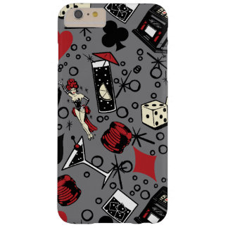 Viva Vegas Casino Retro Gambling Design Barely There iPhone 6 Plus Case