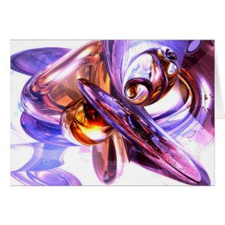 Vivacious Abstract Card