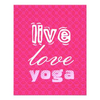 Vivant. Amour. Yoga Prospectus 11,4 Cm X 14,2 Cm