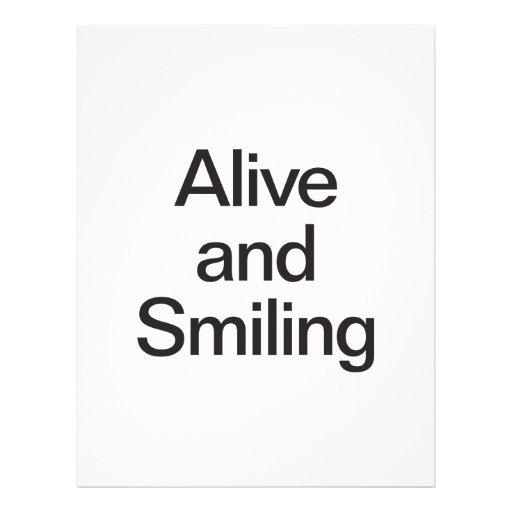vivant et sourire prospectus
