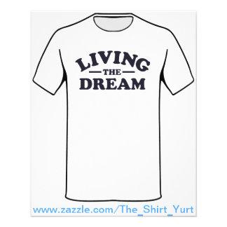 Vivant le rêve prospectus 11,4 cm x 14,2 cm