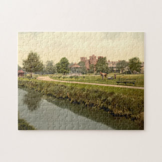 Vivary Park, Taunton, Somerset, England Jigsaw Puzzle
