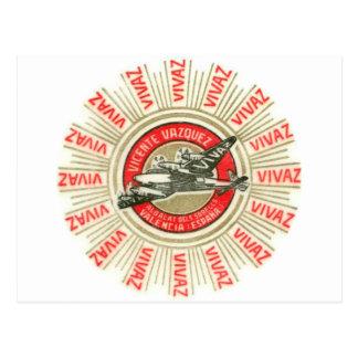 VIVAZ Airplane Postcard