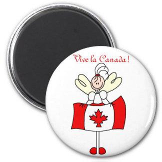 Vive la Canada! Magnet