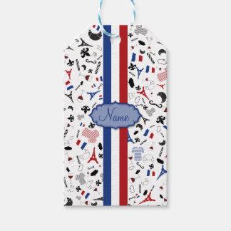 Vive la France Gift Tags