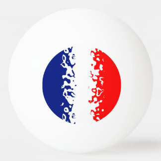Vive La France Ping Pong Ball