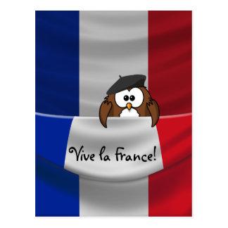 Vive la France! Postcard