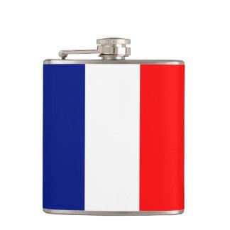 VIVE LA FRANCE tricolor STRIPE20 Hip Flask