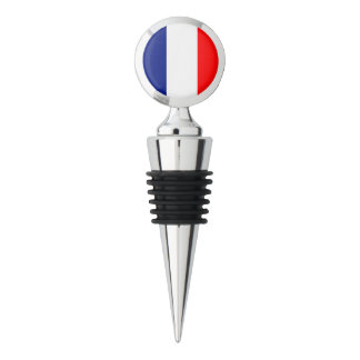VIVE LA FRANCE tricolor STRIPE20 Wine Stopper