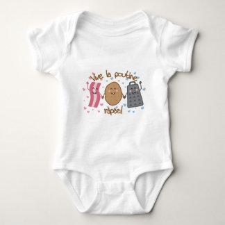 Vive la poutine râpée!! baby bodysuit