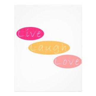 Vivent l'amour de rire prospectus 21,6 cm x 24,94 cm