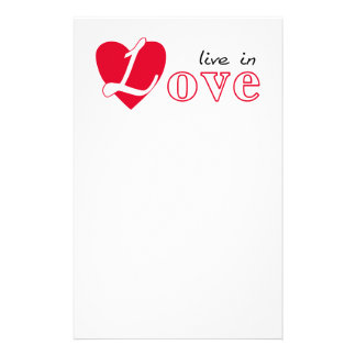 Vivez dans l'amour prospectus 14 cm x 21,6 cm