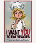 Vivi LeDish Womens Veggie Avenger T-shirt