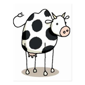 Vivi vaca postcard