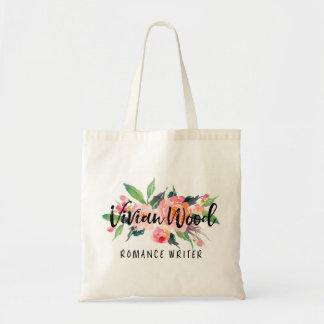Vivian Wood Tote Bag
