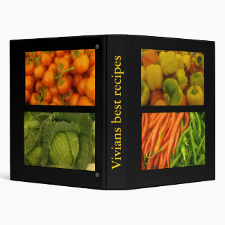 Vivians best recipes ! vinyl binder