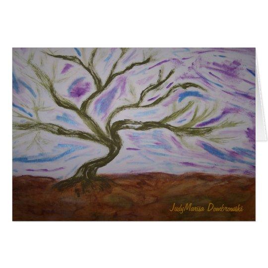 Vivian's Dancing Tree Card