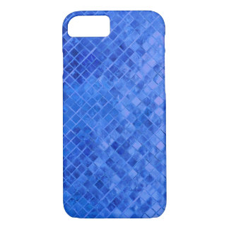 vivid blue diamond metallic tile iPhone 8/7 case