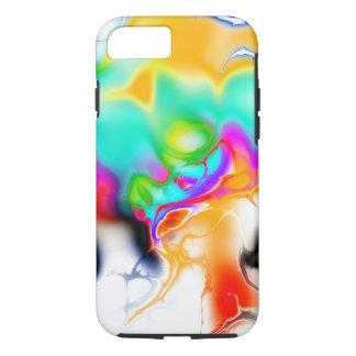 Vivid bright fractal 1 iPhone 8/7 case