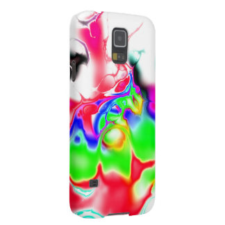 Vivid bright fractal 2 cases for galaxy s5