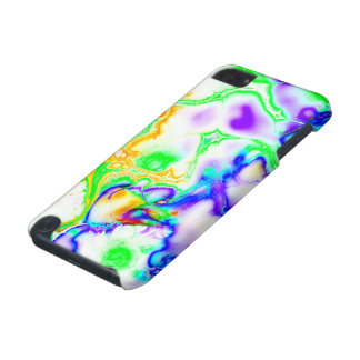 Vivid bright fractal 3 iPod touch 5G case