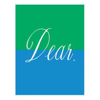 'vivid dear' Postcard