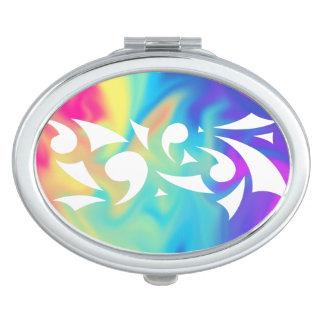 Vivid Delights (Oval Compact) Travel Mirror