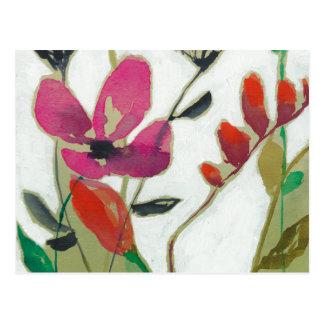 Vivid Flowers I Postcard