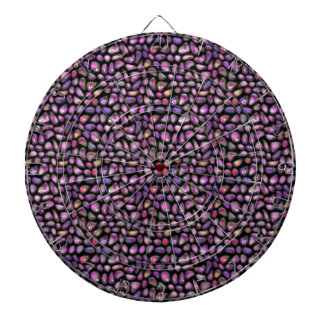 Vivid Gemstones Dartboard